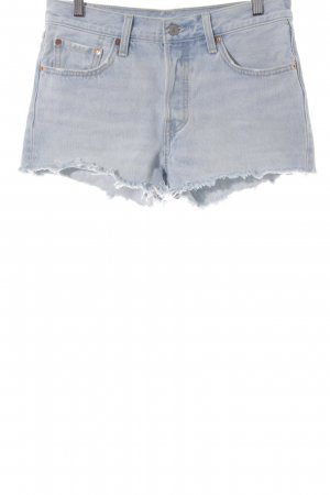 Levi's Hot Pants himmelblau Urban-Look