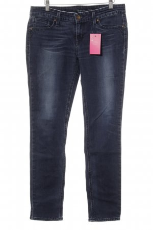 Levi's Low-Rise Trousers dark blue jeans look