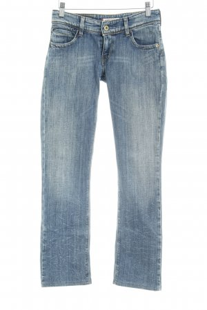 Levi's Low-Rise Trousers steel blue casual look