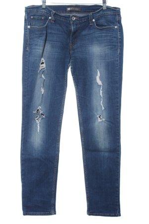 Levi's Low Rise Jeans blue jeans look