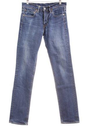 Levi's Hüftjeans blau Street-Fashion-Look