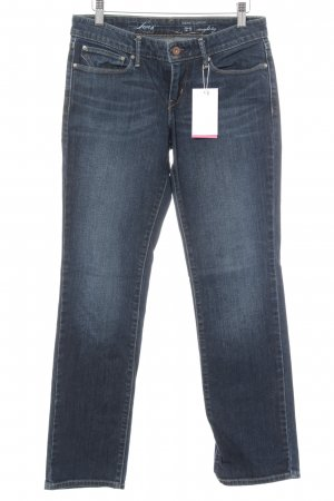Levi's Low Rise Jeans dark blue casual look