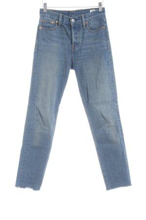 Levi's Low Rise Jeans dark blue jeans look
