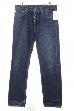 Levi's Low Rise Jeans dark blue jeans look