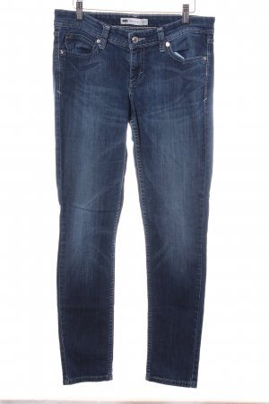 Levi's Low Rise jeans donkerblauw straat-mode uitstraling