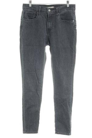 Levi's Jeans vita bassa grigio scuro stile casual