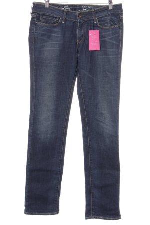 Levi's Hüftjeans graublau Jeans-Optik