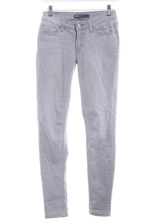 Levi's Jeans taille basse argenté-gris clair style décontracté