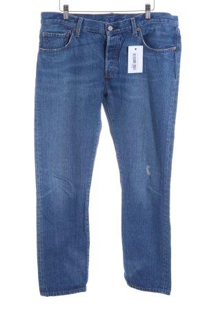 Levi's Hüftjeans stahlblau Jeans-Optik