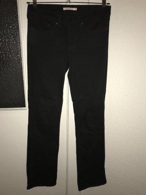 Levi's Jeans 315 Shaping Bootcut Größe 28 schwarz highwaist