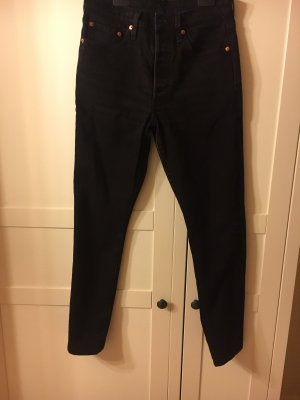 Levi's Hoge taille jeans zwart