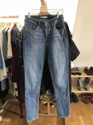 Levi's Hoge taille jeans korenblauw