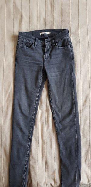 Levi's Skinny jeans grijs
