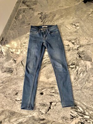 Levi's Tube jeans staalblauw