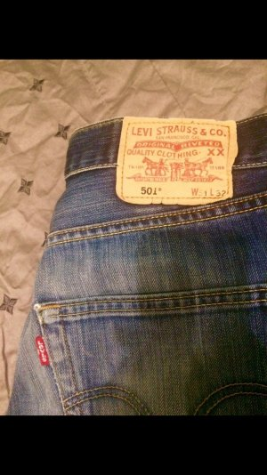 Levi's jeans blau NEU