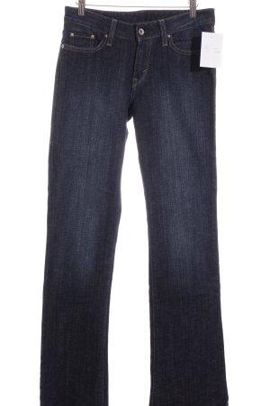 Levi's Jeans dunkelblau meliert Street-Fashion-Look
