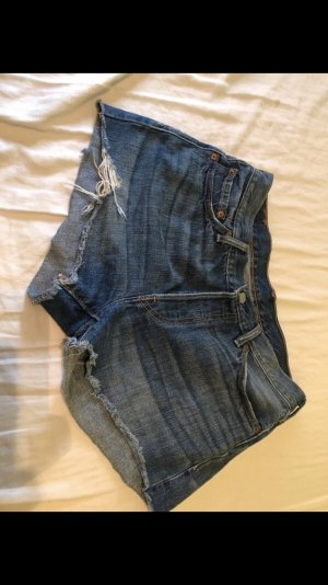 Levi's Pantalón corto de tela vaquera azul oscuro-azul