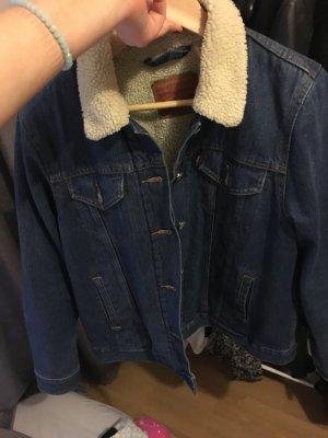 Levi's Jeans Jacke blau
