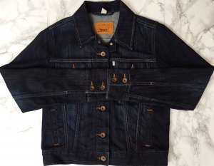 Levi's Denim Jacket blue-dark blue cotton