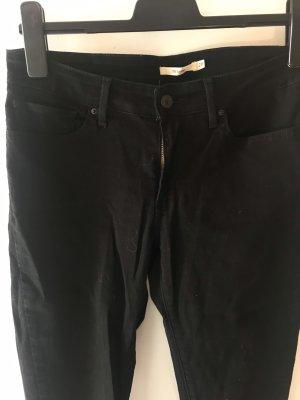 Levi's Jeans schwarz 711