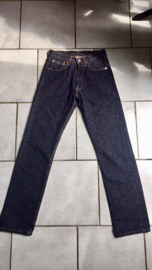 LEVI'S Jeans schwarz blau, straight leg