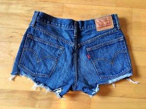 Levi's Jeans Shorts dunkelblau