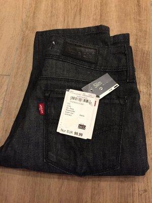 Levi's Low Rise Jeans grey-black
