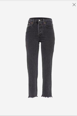 Levi's Straight Leg Jeans black-anthracite