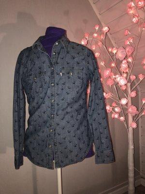 Levi's Blouse en jean bleu