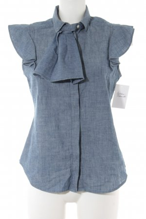 Levi's Jeans blouse staalblauw casual uitstraling