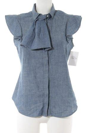 Levi's Jeansbluse stahlblau Casual-Look