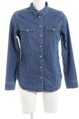 Levi's Camisa vaquera azul estilo «business»