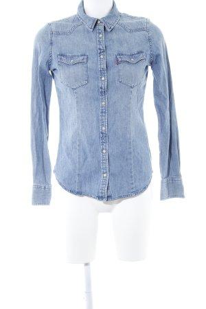 Levi's Jeanshemd blau Casual-Look
