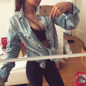 Levi's Jeanshemd Bluse Denim Top Oberteil Jeans Oversized
