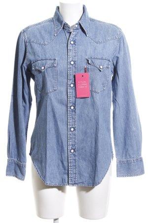 Levi's Camicia denim blu stile casual