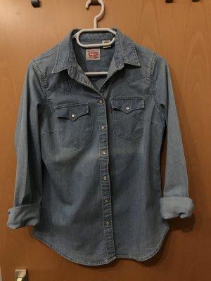 Levi's Camisa vaquera azul claro