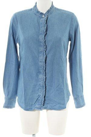 Levi's Camisa vaquera azul look casual