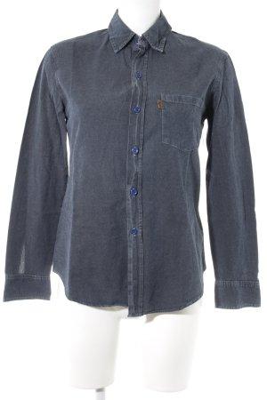Levi's Jeanshemd graublau Jeans-Optik