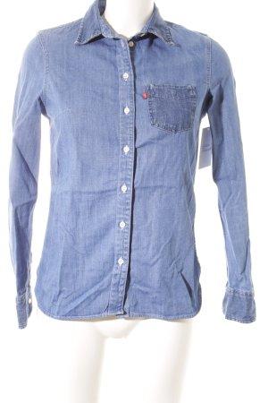 Levi's Camicia denim azzurro stile casual