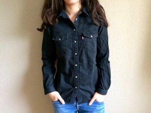 Levi's Chemise en jean noir