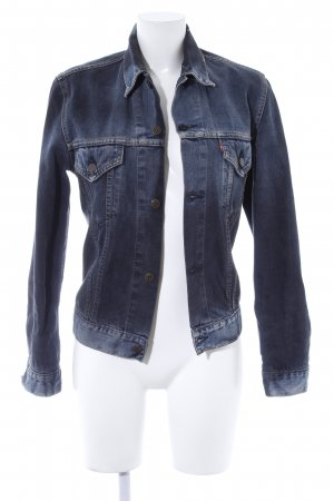 Levi's Jeansjacke anthrazit Casual-Look