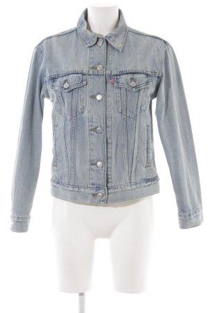 Levi's Jeansjacke blassblau klassischer Stil