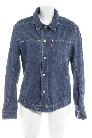 Levi's Jeansjacke blau Casual-Look