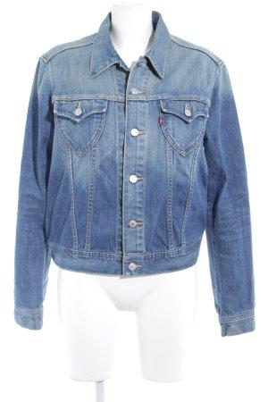 Levi's Jeansjacke blau-dunkelblau sportlicher Stil