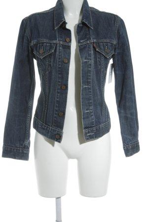 Levi's Jeansjacke blau Jeans-Optik