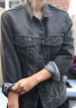 Levi's Jeansjacke dunkelgrau Boyfriend M
