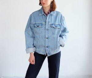 Levi's jeansjacke hellblau oversize denim S M 36 38 40
