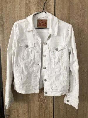 Levi's Denim Jacket white-silver-colored