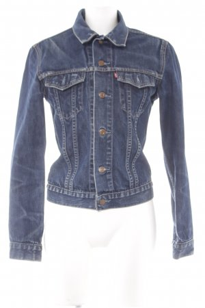 Levi's Jeansjacke mehrfarbig Jeans-Optik