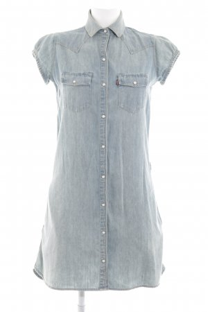 Levi's Jeanskleid blau Street-Fashion-Look